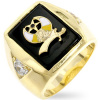 Shriners Onyx Men's Ring